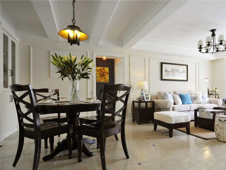 极简素雅的现代简约60平米二居室客厅窗户装修效果图