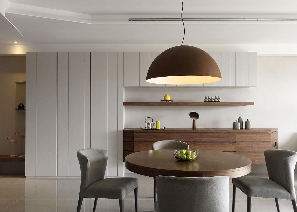 北欧风格120平三室一厅客厅装修效果图