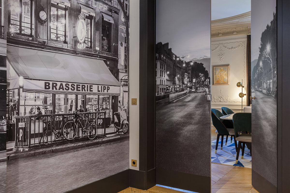 北欧风格103平两室一厅书房装修效果图