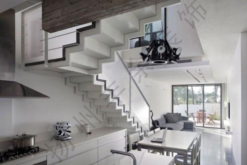 楼梯颜色搭配技巧
